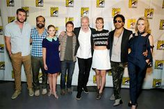 Catching Fire cast at Comic Con - July 19th 2013