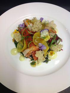 Shrimp and Salmon Salad
