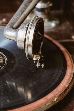 Stock photo of Old vintage gramophone by pixelstories Music Aesthetic, Aesthetic Vintage, Brown Aesthetic, Vintage Vibes, Retro Vintage, Vintage Type, Vintage Music, Musik Wallpaper, New Wall