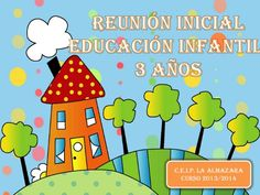 reunin-inicial-24277470 by Raquel Millán Montuenga via Slideshare Teaching Grammar, Classroom Organization, Cute Drawings, Lesson Plans, Make It Simple, Author, Kindergarten, How To Plan, Logos