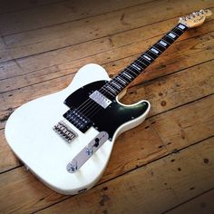 Isn't she a beaut! This morning in York, we sold this wonderful Fender Limited Edition American Standard Telecaster HH. Now we only have one left, and it sits in pride of place at musicroom Nottingham - musicroom.com/nottingham | #musicroom #guitars #Fender #fenderguitars @fenderguitar #telecaster #limitededition #collectors #beautiful #love #Nottingham #guitarheaven #music #rock #white #pearls #happy #fendertelecaster #notts #one
