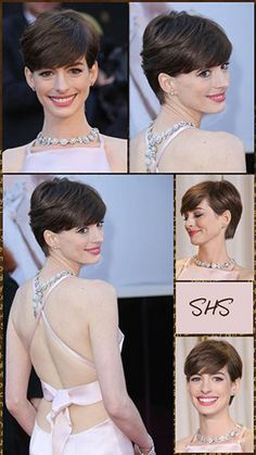 Pixie Haircut - Why You Should Rethink this Style! | Anne Hathaway