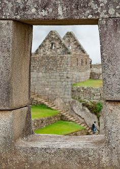 Window, Machu Picchu, Peru