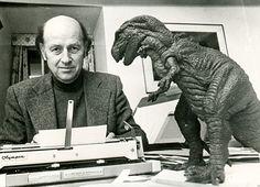 Ray with Gwangi the allosaurus from The Valley of Gwangi (1969)