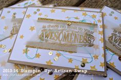 Dear Artisans | AWW by Cathy Caines @stampinup Art Crafts, Paper Crafts, Artisan & Artist, Cat Cave, Shaker Cards, Big News, Making Cards, Stamping Up, Stampin Up Cards