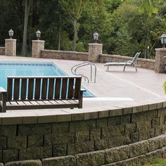 Stonewood Products has a huge selection of manufactured retaining walls for your design projects. Concrete retaining wall blocks from the best manufacturers Retaining Wall Pavers, Cape Cod Ma, Manufactured Stone, Design Projects, Boston, Deck, Outdoor Decor, Home Decor, Decoration Home