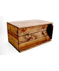 Skrzynia drewniana kufer serce brąz