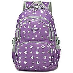 Dog Backpacks. School Bags For BoysHigh School BagsSchool BackpacksCute BackpacksFashion  KidsTravel BackpackSchool SatchelShoulder BackpackPawprint 08ddcd90539a3