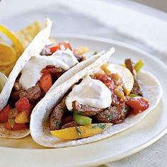 Crock Pot Fajitas Recipe calls for beef but I make it with chicken tenderloin strips and it is delicious!!!