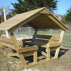 Infant roofed shelter
