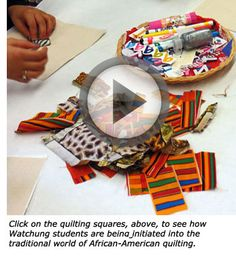 MHS Holds Annual African-American Read-In with Quilting Theme -- What a wonderful program!