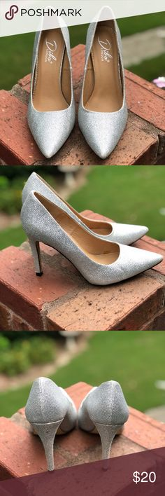 7f7958e1a7 Diba London Beth Silver Pumps Diba London Beth Pumps SIZE 9 SILVER HIGH HEEL  Very comfortable