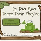 These common homophones (to-too-two and there-their-they're) are often misspelled in students' writing. These fun activities are designed to help students remember and use them correctly. Teaching Language Arts, Classroom Language, Teaching Writing, Writing Activities, Fun Activities, Word Study, Word Work, Common Homophones, School Fun