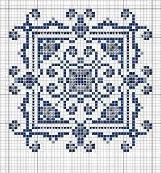 Cross Point Pattern Only (page 733) | Learning crafts is easyisimo.com