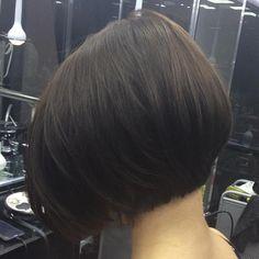 Brunette+Bob+Hairstyle