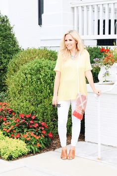 Go ahead! Wear white after labor day! All the fashion bloggers are doing it! ;)    #fallstyle #fallfashion #styleblogger