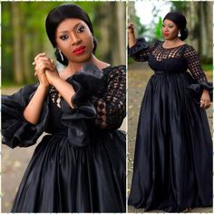 Check out Beautiful and Trendy Ankara Church Styles To Try Out Latest African Fashion Dresses, African Print Fashion, Lace Gown Styles, Dinner Gowns, African Wedding Attire, Shweshwe Dresses, Church Fashion, Evening Dresses Plus Size, Looks Black