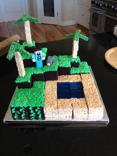 Mindcraft Cake!