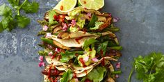 For a fresh spin on Mexican, try these stellar vegetarian tacos.