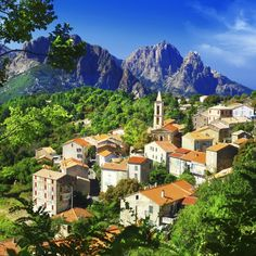 Corsica, FRANCE. The island's mountainous area has successfully stayed fairly untouched by human hand, as most visitors go to Corsica to see the house where Napoleon lived, the historic La Maison Bonaparte located in Ajaccio. As for the coast it shows the real spirit of this place and its cultural and historic value.