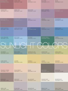 Sunlight Colors