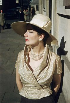 Bronwen Pugh, April 1957