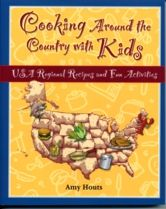 Cooking Around the Country with Kids. Ideal for home or school. Choose recipes from 8 different regions of the U.S.A.