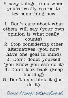 Golden rules..