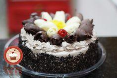 Torta de Chocolate Simples - www.docesesalgadosolinda.com.br