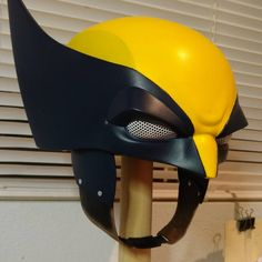 Wolverine helmet by realgoodprops