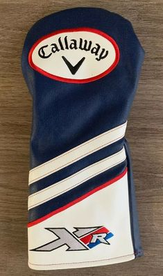 addfcaf22b1 Callaway Golf Driver Headcover XR Blue Red White
