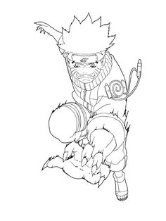 naruto sage mode coloring pages | Anime | Pinterest | Naruto and Anime