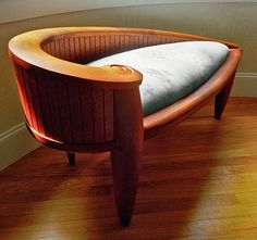 Learn to make -- and then make -- groovy wooden furniture.