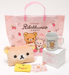 #Rilakkuma gift set at Lawson, Japan -- available now! ^__^