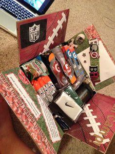 sporty boyfriend care package - Google Search … More