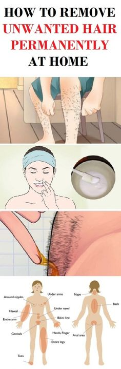 These techniques will help you to remove unwanted hair permanently at home easy and effective.