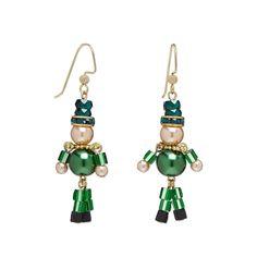 Leapin' Leprechauns! Adorable! #jewelrymaking  (Bernice)