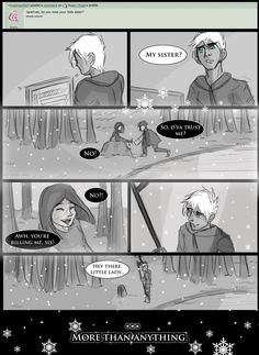 rise of the guardians jack frost and his sister | ASK JACK FROST - SISTER by ask-guardian-of-fun on deviantART