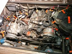 vanagon engine compartment diagram google search vanagon vanagon view topic help labeling some parts photos provided