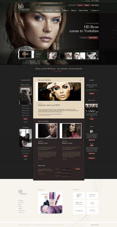 HD Brows by Leigh Taylor #webdesign | #webdesign #it #web #design #layout #userinterface #website #webdesign <<< repinned by an #advertising #agency from #Hamburg / #Germany - www.BlickeDeeler.de | Follow us on www.facebook.com/BlickeDeeler