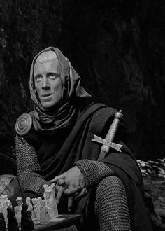 The Seventh Seal, Ingmar Bergman, actor Max von Sydow