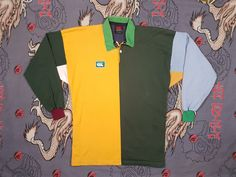 50d31554 Vintage Canterbury Rugby Jersey, Green and Gold Australia, Long Sleeve,  Sweater Size Large, Retro Uglies Sweatshirt Jumper Shirt by NEONPOINT on  Etsy