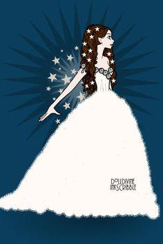 Christine Daae : think of me ~ by linaena ~ created using the Erte Elegance doll maker | DollDivine.com