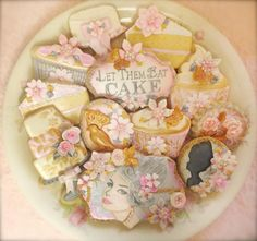 Marie Antoinette Cookies | Cookie Connection These are JUST GORGEOUS !!!