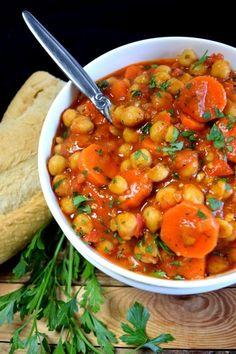 Vegan Chickpea Stew Recipe on Yummly. @yummly #recipe