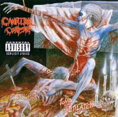 """Cannibal Corpse """"Tomb Of The Mutilated"""" 1992"""