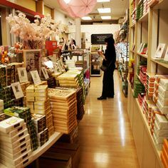 The only US outlet of a Japanese confection chain.  1737 Post St. #345 Japantown San Francisco, CA  (415) 346-0332
