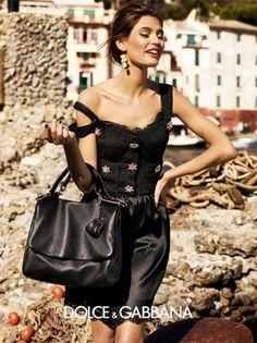 (via Bianca Balti  Monica Bellucci for Dolce  Gabbana Spring 2012 Campaign by Giampaolo Sgura)