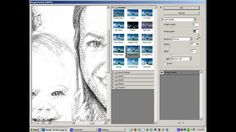 """How to make a pencil sketch or line drawing from a photo"""