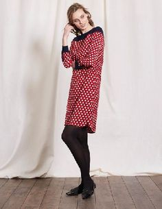 Boden Ursula Dress Red Triangle Geo Women Boden, Red Get in touch with your hippy side with our Sixties-inspired dress, refreshed with modern lines. The polyester fabric is easy to care for - it holds its shape, doesnt crease and can be machine washed. http://www.MightGet.com/april-2017-1/boden-ursula-dress-red-triangle-geo-women-boden-red.asp
